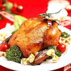 クリスマス ごちそう グルメ 国産若鶏 ローストチキン 鶏肉 1羽 2〜3人前 鳥専門料理店 送料無料 aionline-japan
