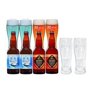 お中元 ビール ギフト 網走ビール グラス付き 発泡酒 詰め合わせ | 飲み比べ 北海道 地ビール クラフト 麦酒 お酒 贈り物 贈答 御中元 暑中 残暑 見舞い|aionline-japan