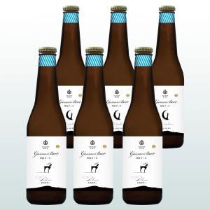 お中元 ビール ギフト 月山 ピルスナー ミュンヒナー 330ml 6本 詰め合わせ | 飲み比べ 山形 地ビール クラフト 麦酒 お酒 お祝い 内祝 御中元|aionline-japan