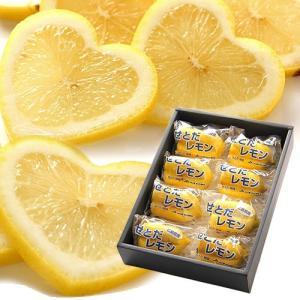 ハートレモン 8玉 広島県産 化粧箱箱入り | レモン フルーツ ハート型 贈答 果 物 くだもの かわいい インスタ映え|aionline-japan