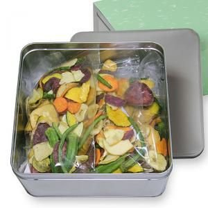 豆徳 17品目の野菜果物チップス 510g 170g×3袋入 送料無料