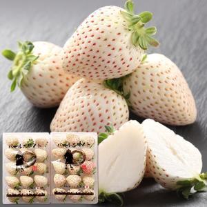 白い苺 いちご パールホワイト 奈良県産 230g 2パック詰め 送料無料|aionline-japan