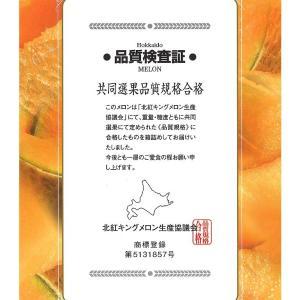 北紅 キング メロン 北海道産 大玉 1玉 約2kg前後 化粧箱入り|aionline-japan|06