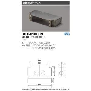 (受注生産品) LEDフットライト 埋め込みボックス BOX-01000N 東芝ライテック (BOX01000N)|aipit
