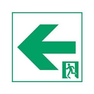 (木曜限定ポイント3倍) 通路誘導灯用適合表示板 パナソニック 左 C級(10形) 片面用 FK10016 aipit