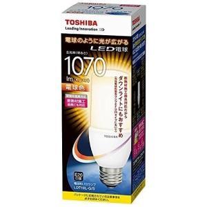 LED電球 LDT10L-G/S 東芝ライテック 全方向タイプ 一般電球60W形相当(T形)LDT10L-G-S(LDT10LGS)電球色/E26口金|aipit