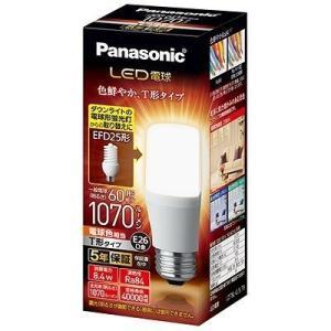 (木曜限定ポイント3倍) LED電球 パナソニック T形タイプ 8.4W 電球色相当 E26口金 全光束1070lm LDT8L-G/S/T aipit