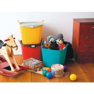 洗濯かご 脱衣かご 洗濯物入れ ランドリーバスケット 洗濯カゴ おもちゃ入れ おもちゃ箱 収納ボックス ストレージボックス スタックストー バケットLサイズ|air-r|03