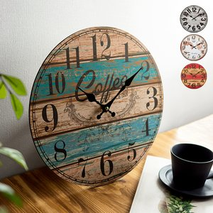 掛け時計 壁掛け時計 おしゃれ 掛時計 西海岸 ブルックリン...