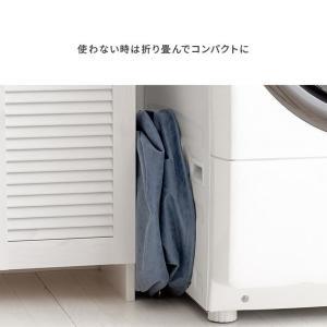 ランドリーバスケット ランドリーバック おしゃれ 大容量 肩掛け 洗濯かご 洗濯カゴ 洗濯物入れ 収納ボックス 脱衣かご 折りたたみ|air-r|13