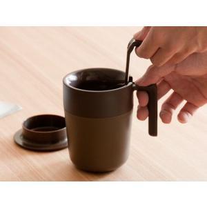 マグカップ cafepress カフェプレス フタ付 茶こし付き カップ コップ タンブラー おしゃれ アイボリー ワインレッド ネイビー グリーン ブラウン|air-r|04