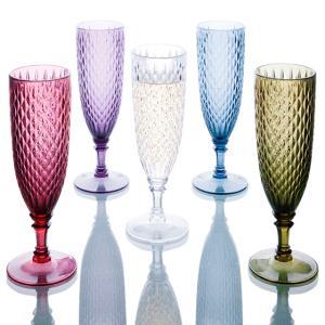 シャンパングラス グラス 樹脂 ワイングラス 割れない 樹脂製グラス 食洗機対応 KINTO キント...
