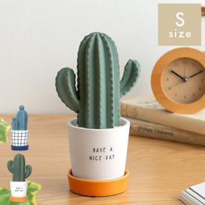 加湿器 卓上 陶器 気化式 おしゃれ パーソナル加湿器 エコ コンパクト オフィス 寝室 サボテン かわいい 素焼き エコ加湿器 自然気化 Sサイズの画像