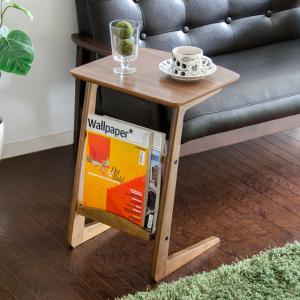 サイドテーブル 北欧 木製 おしゃれ ソファーサイドテーブル ナイトテーブル ミニテーブル リビング 寝室 シンプル ナチュラル モダン ソファーテーブルの写真