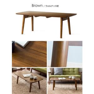 ローテーブル リビングテーブル 折りたたみテーブル センターテーブル おしゃれ 木製 北欧 シンプル モダン ウォールナット ブラウン ナチュラル air-r 02