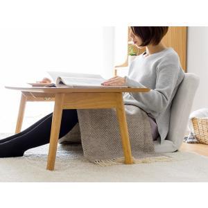 ローテーブル リビングテーブル 折りたたみテーブル センターテーブル おしゃれ 木製 北欧 シンプル モダン ウォールナット ブラウン ナチュラル air-r 09