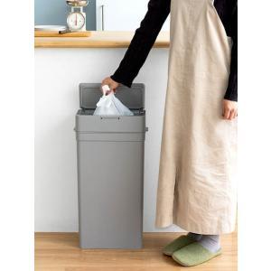 ゴミ箱 ごみ箱 おしゃれ 密閉 蓋付き フタ付き オムツ ペット 生ごみ 臭わない 漏れない ダストボックス 25L シンプル キッチン 蓋付きゴミ箱|air-r|05