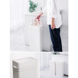 ゴミ箱 ごみ箱 おしゃれ 密閉 蓋付き フタ付き オムツ ペット 生ごみ 臭わない 漏れない ダストボックス 25L シンプル キッチン 蓋付きゴミ箱|air-r|06