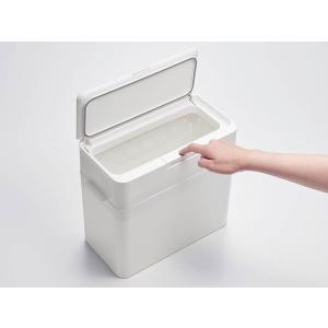 ゴミ箱 ごみ箱 おしゃれ 密閉 蓋付き フタ付き オムツ ペット 生ごみ 臭わない 漏れない ダストボックス 9.5L シンプル リビング キッチン air-r 07