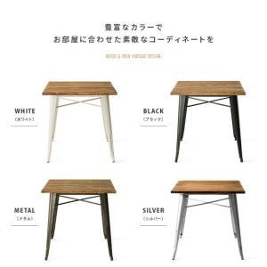 ダイニングテーブルセット 2人用 3点 おしゃれ ダイニングセット 2人掛け カフェテーブルセット 食卓テーブルセット インダストリアル ブルックリン 西海岸|air-r|12