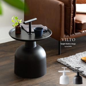 サイドテーブル おしゃれ 北欧 ソファーサイドテーブル ベッドサイドテーブル ナイトテーブル 収納 シンプル モダン 丸型 リビング 寝室 ホワイト ブラック|air-r