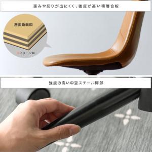 デスクチェア オフィスチェア おしゃれ パソコンチェア レザー 革 椅子 イス 回転 昇降式 キャスター付き ヴィンテージ インダストリアル ワークチェア|air-r|15