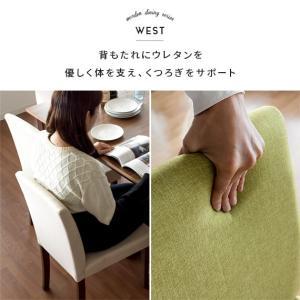 ダイニングチェア 2脚 おしゃれ 木製 肘なし ダイニングチェアー 椅子 ファブリック 北欧 カフェ シンプル 食卓椅子|air-r|04
