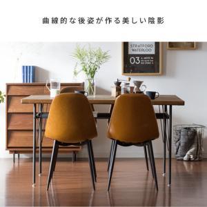 ダイニングチェア 2脚 おしゃれ レザー 椅子 ヴィンテージ インダストリアル ブルックリン カフェ 食卓椅子 ダイニングチェアー|air-r|14
