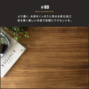 ローテーブル リビングテーブル おしゃれ 木製 センターテーブル 収納 棚付き リビング テーブル ブルックリン ヴィンテージ カフェテーブル インダストリアル air-r 07