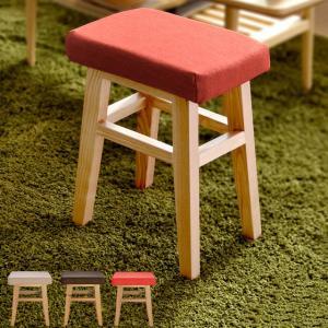 スツール 椅子 イス 木製 おしゃれ 北欧 オットマン 人気 玄関スツール リビング インテリア 四角 かわいい ベージュ ブラウン レッド|air-r