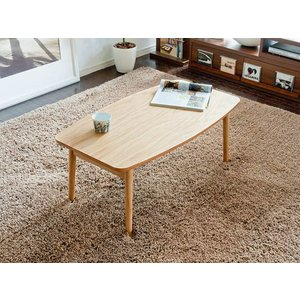 こたつテーブル 長方形 おしゃれ 90cm幅 木製 こたつ本体 コタツテーブル 炬燵 シンプル モダン リビングテーブル センターテーブル ミッドセンチュリー|air-r|04