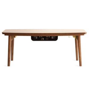 こたつテーブル 長方形 おしゃれ 90cm幅 木製 こたつ本体 コタツテーブル 炬燵 シンプル モダン リビングテーブル センターテーブル ミッドセンチュリー|air-r|05