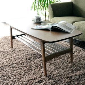 テーブル ローテーブル 木製 おしゃれ 北欧 センターテーブル リビングテーブル カフェ シンプル モダン ミッドセンチュリー コーヒーテーブル ウォールナット|air-r