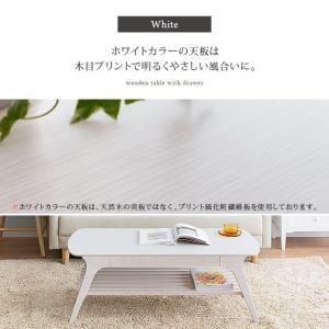 ローテーブル リビングテーブル おしゃれ 北欧 木製 センターテーブル 収納付き 引き出し 棚付き シンプル モダン カフェ ナチュラル リビング テーブル|air-r|11
