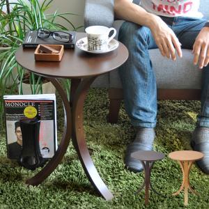 サイドテーブル おしゃれ 木製 北欧 ソファーサイドテーブル ナイトテーブル ベッドサイドテーブル 円形 丸型 リビング 寝室 シンプル モダン ソファーテーブル|air-r