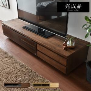 テレビボード 150 テレビ台 完成品 ローボード 収納 ウ...