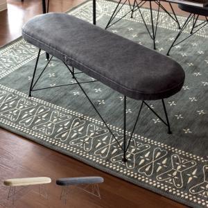 ベンチ ダイニングベンチ 2人 ダイニングベンチチェア 長椅子 スツール 玄関ベンチ 椅子 おしゃれ 北欧 人気 モダン シンプル カフェ風 ファブリック 単体販売|air-r