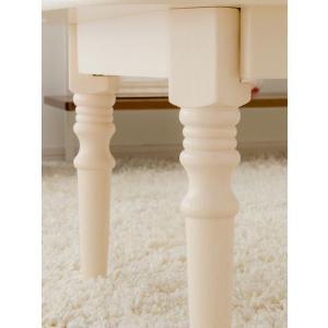 テーブル ローテーブル 折りたたみ 木製 センターテーブル リビングテーブル 90 北欧 ちゃぶ台 かわいい おしゃれ ナチュラル 折れ脚 人気 白 カフェ|air-r|06