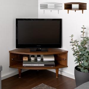 テレビ台 コーナー ローボード 収納 コンパクト テレビボード テレビラック 木製 家具 北欧 シンプル おしゃれ モダン ミッドセンチュリー コーナーテレビ台の画像