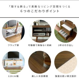 テレビ台 ローボード 収納付き テレビボード ...の詳細画像5