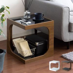 サイドテーブル おしゃれ 北欧 ソファーサイドテーブル ベッド サイド―テーブル ナイトテーブル ソファーテーブル ガラス コーヒーテーブル シンプル モダン|air-r