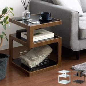 サイドテーブル おしゃれ 北欧 ソファーサイドテーブル ベッド サイドテーブル ナイトテーブル ソファーテーブル ガラス コーヒーテーブル ミッドセンチュリー|air-r