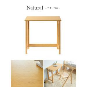 パソコンデスク おしゃれ 木製 シンプル コン...の詳細画像2