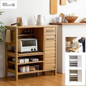 レンジ台 レンジラック レンジボード キッチン 収納 おしゃれ 北欧 シンプル ナチュラル 食器棚 キッチンラック キッチンボード キッチン 収納棚|air-r