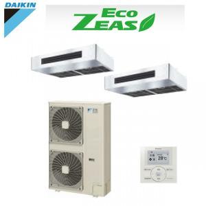 「送料無料」業務用エアコンダイキンECOZEAS-ツイン同時マルチ10馬力szzt280cfd厨房用|aircon-saikuu