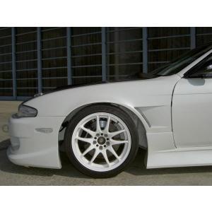 【ガレージマック】S14 フロントワイドフェンダー