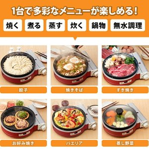 イワタニ(iwatani) ビストロの達人 2 レッド CB-GP-W-R|airhope|02