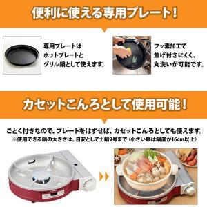 イワタニ(iwatani) ビストロの達人 2 レッド CB-GP-W-R|airhope|03