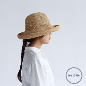 [送料無料]RAFFIA クロシェハット デリエ ブラック(BK)帽子 麦わら帽子 レディース ハット 夏 紫外線 ピクニック アウトドア レジャー|airleaf