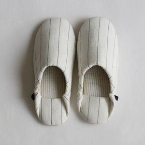 〔新商品〕RSミルトストライプ メンズフリー ホワイト(WH) レディース ファッション 生活雑貨 ルームシューズ スリッパ|airleaf